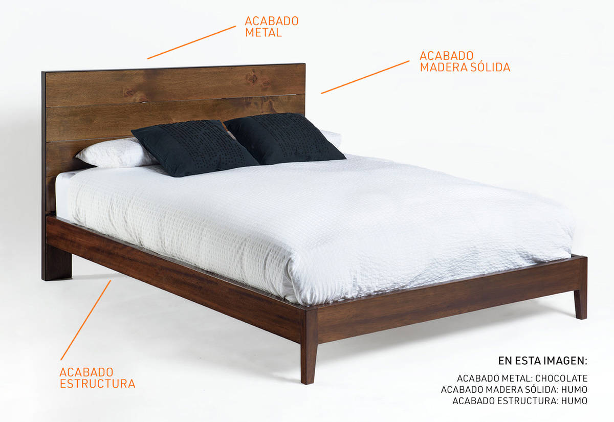 Cama Queen Industrial